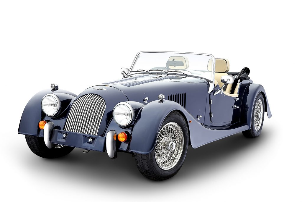 Morgan Plus 4 by Anthony Hague