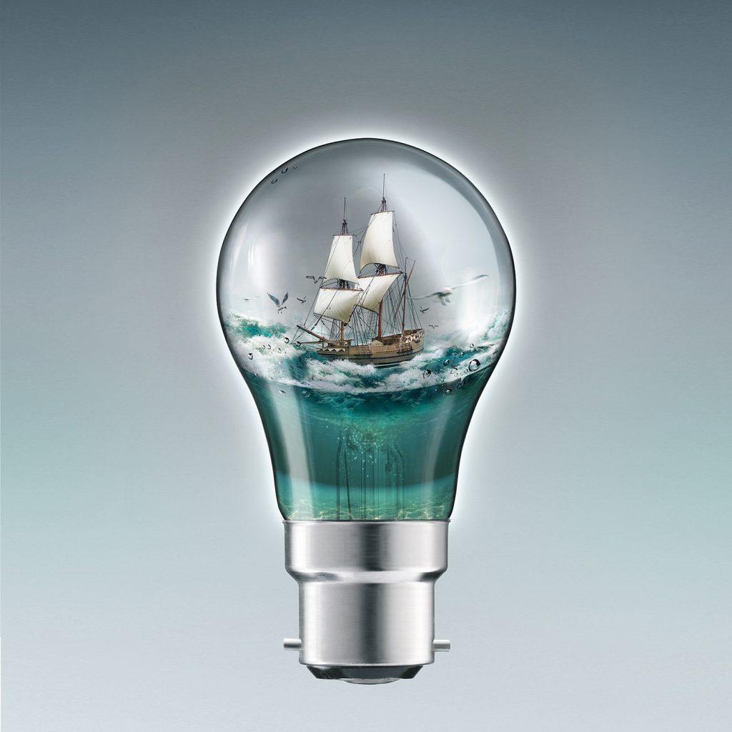 Bulb Fantasy Retouching by Anthony Hague