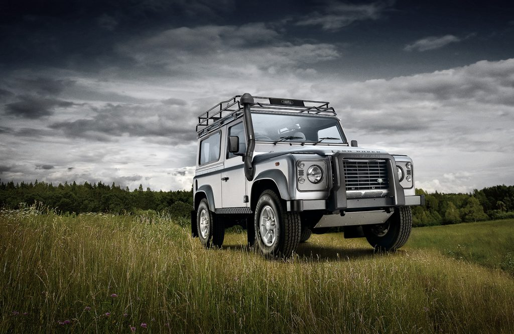 Image Retouching Manchester Cheshire - Land Rover